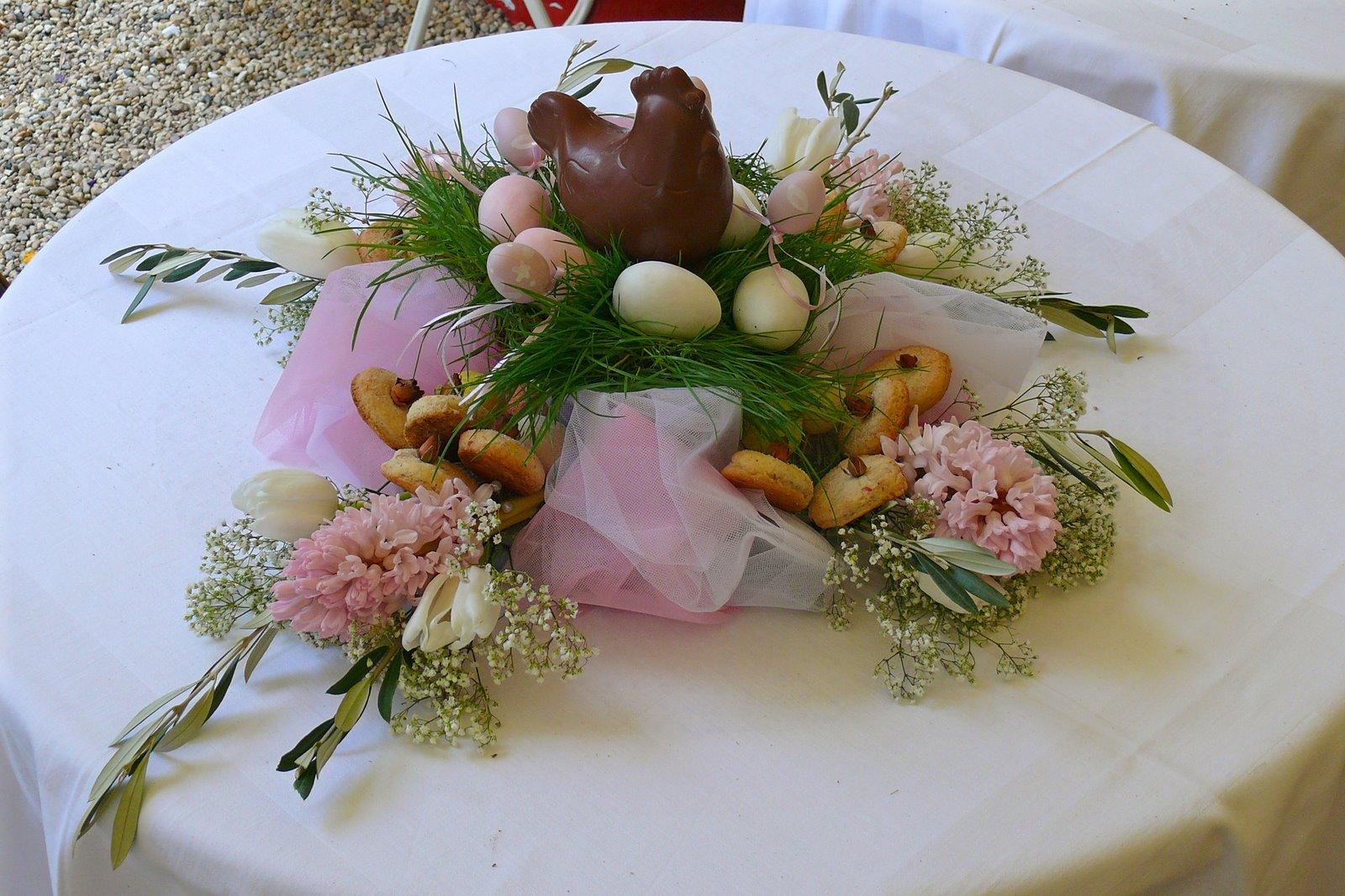Auguri di pasqua da messer tulipano e da arredoeconvivio arredoeconvivio - Centro tavola per pasqua ...